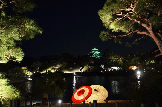 幻想庭園から見た烏城3746.jpg